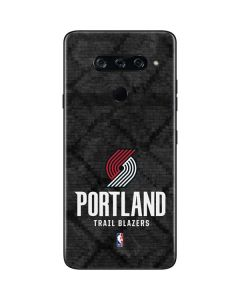 Portland Trail Blazers Dark Rust LG V40 ThinQ Skin