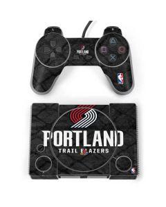 Portland Trail Blazers Dark Rust PlayStation Classic Bundle Skin