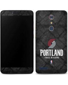 Portland Trail Blazers Dark Rust ZTE ZMAX Pro Skin