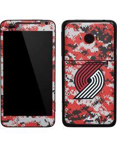 Portland Trail Blazers Digi Camo EVO 4G LTE Skin