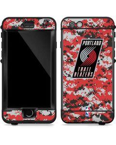 Portland Trail Blazers Digi Camo LifeProof Nuud iPhone Skin