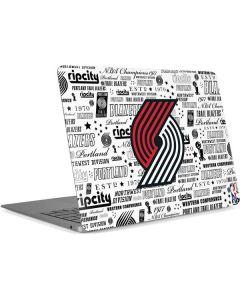 Portland Trail Blazers Historic Blast Apple MacBook Air Skin