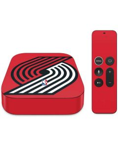 Portland Trail Blazers Large Logo Apple TV Skin