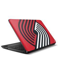 Portland Trail Blazers Large Logo HP Notebook Skin