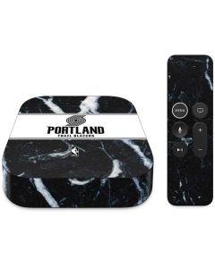 Portland Trail Blazers Marble Apple TV Skin