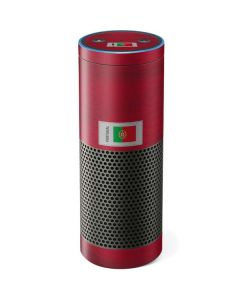 Portugal Soccer Flag Amazon Echo Skin
