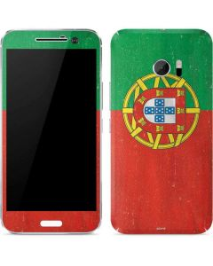Portugal Flag Distressed 10 Skin