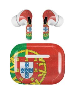 Portugal Flag Distressed Apple AirPods Pro Skin