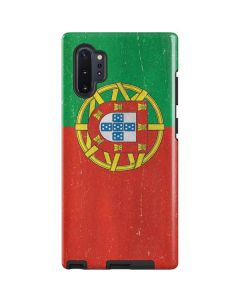 Portugal Flag Distressed Galaxy Note 10 Plus Pro Case