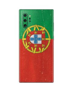 Portugal Flag Distressed Galaxy Note 10 Plus Skin