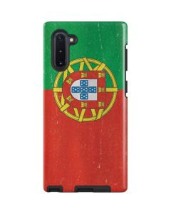 Portugal Flag Distressed Galaxy Note 10 Pro Case