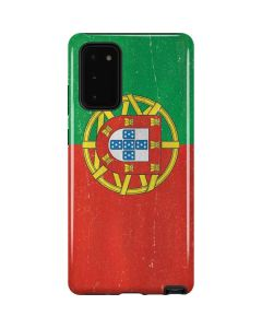 Portugal Flag Distressed Galaxy Note20 5G Pro Case
