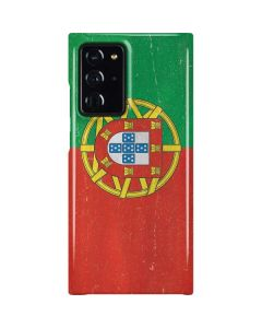 Portugal Flag Distressed Galaxy Note20 Ultra 5G Lite Case