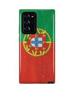 Portugal Flag Distressed Galaxy Note20 Ultra 5G Pro Case