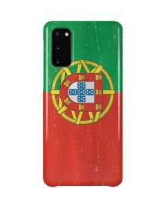 Portugal Flag Distressed Galaxy S20 Lite Case