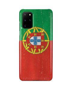 Portugal Flag Distressed Galaxy S20 Plus Lite Case