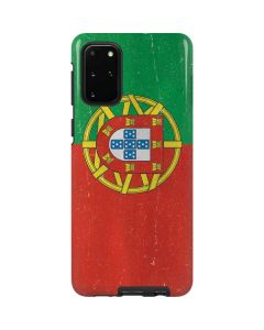 Portugal Flag Distressed Galaxy S20 Plus Pro Case
