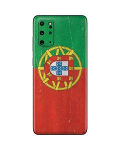 Portugal Flag Distressed Galaxy S20 Plus Skin