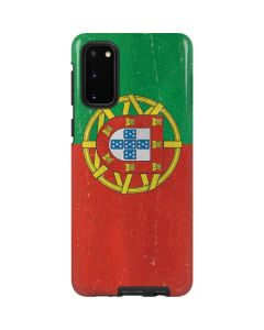 Portugal Flag Distressed Galaxy S20 Pro Case