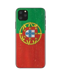 Portugal Flag Distressed iPhone 11 Pro Max Skin