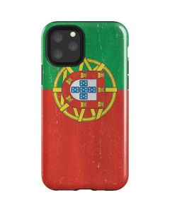 Portugal Flag Distressed iPhone 11 Pro Impact Case