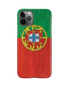 Portugal Flag Distressed iPhone 11 Pro Lite Case