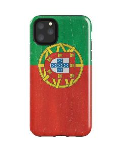 Portugal Flag Distressed iPhone 11 Pro Max Impact Case