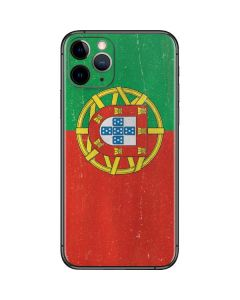 Portugal Flag Distressed iPhone 11 Pro Skin