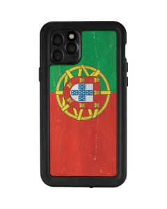 Portugal Flag Distressed iPhone 11 Pro Waterproof Case