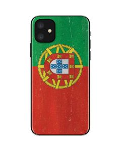 Portugal Flag Distressed iPhone 11 Skin