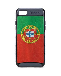 Portugal Flag Distressed iPhone 7 Cargo Case