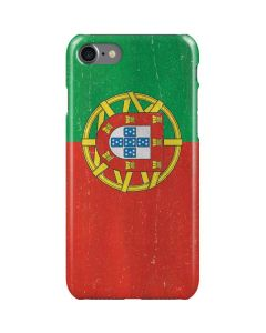 Portugal Flag Distressed iPhone SE Lite Case