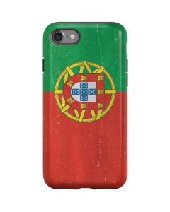 Portugal Flag Distressed iPhone SE Pro Case