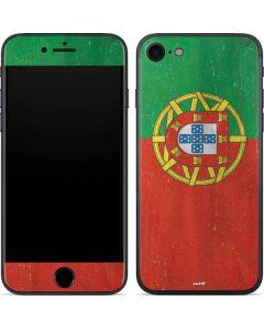 Portugal Flag Distressed iPhone SE Skin