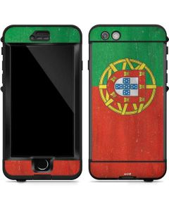 Portugal Flag Distressed LifeProof Nuud iPhone Skin