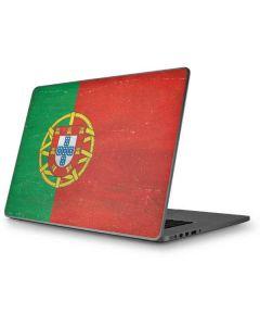 Portugal Flag Distressed Apple MacBook Pro 17-inch Skin