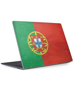 Portugal Flag Distressed Surface Laptop 3 13.5in Skin