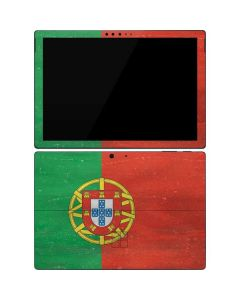 Portugal Flag Distressed Surface Pro 7 Skin