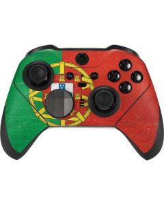 Portugal Flag Distressed Xbox Elite Wireless Controller Series 2 Skin