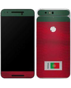 Portugal Soccer Flag Google Nexus 6P Skin