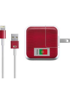 Portugal Soccer Flag iPad Charger (10W USB) Skin