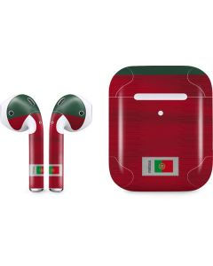 Portugal Soccer Flag Apple AirPods 2 Skin