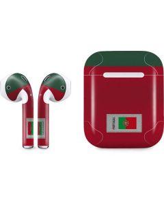 Portugal Soccer Flag Apple AirPods Skin