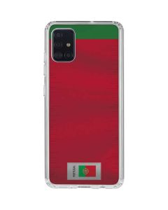 Portugal Soccer Flag Galaxy A51 Clear Case