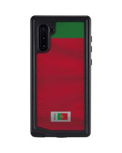 Portugal Soccer Flag Galaxy Note 10 Waterproof Case