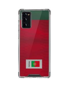 Portugal Soccer Flag Galaxy Note20 5G Clear Case