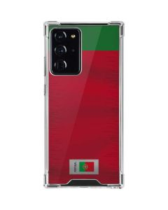 Portugal Soccer Flag Galaxy Note20 Ultra 5G Clear Case