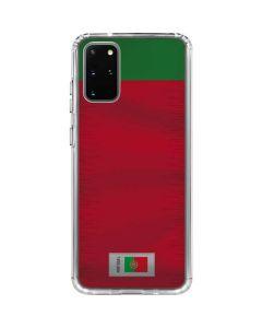 Portugal Soccer Flag Galaxy S20 Plus Clear Case