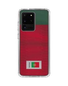 Portugal Soccer Flag Galaxy S20 Ultra 5G Clear Case
