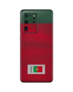 Portugal Soccer Flag Galaxy S20 Ultra 5G Skin